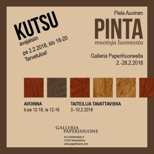 PINTA_Piela Auvinen_kutsu
