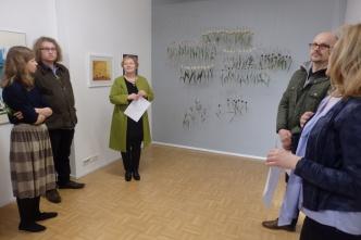 JANO -näyttelyn avajaistunnelmia
